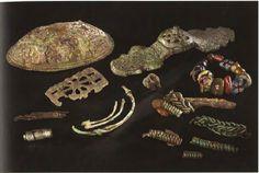 Kaupang 254  Probably representing a woman of Eastern origin