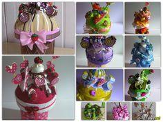 cupcakes decorativos completamente confeccionados em eva. Uteis para acondicionar mantimentos,doces, bolachas e outras coisas na cozinha e copa. Ou meramente decorativos.