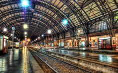 train station - estacion de tren