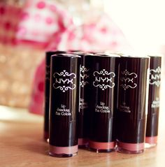 NYX Lipsticks: These are fantastic for their price point and how they look and feel on lips.  More of a sheer to medium coverage and very creamy.  I always suggest this brand to my younger clients, especially those still learning and experimenting with makeup.