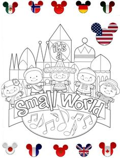 Kids Disney Activity Book ** Updated 4/25 EPCOT Around the World pgs added - The DIS Discussion Forums - DISboards.com