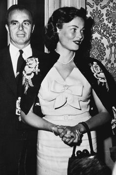 Prince Aly Khan and Gene Tierney