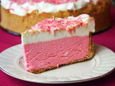 "Pink Lemonade Pie from Prepared Pantry....there are also a lot of ""pink"" sweets recipes on this site for Valentines!"
