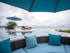 From the Royal Horizon Pool Villa at The Naka Island,