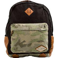 f188de5994 Billabong Hidden Trek Backpack (66 NZD) ❤ liked on Polyvore featuring bags