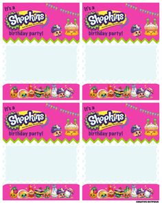 A Shopkins Birthday Party - Creative Outpour