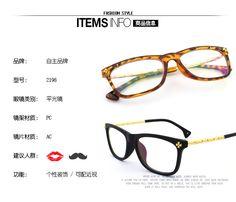 cool Korean vintage Crow eye glasses eyeglasses frames wholesale 2198 trend bamboo metal leg manufacturer