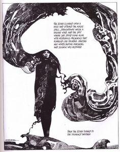 F come Fumetto (6): 'Sharaz-de' di Sergio Toppi (1979) - PostCardCult