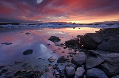 21. Iceland. Iceland. Iceland. | 21 Instagram-Worthy Sunrises You Need To Watch Before You Die