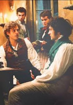 Enjolras and Grantaire. My creys forever.