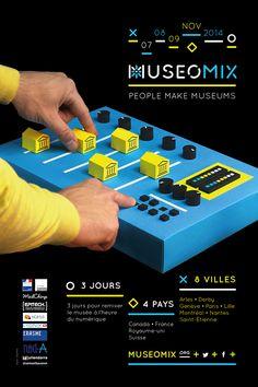 Museomix 2014 - Poster design on Behance