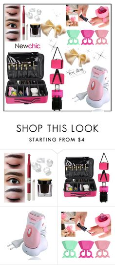 """""""Newchic52"""" by merisa-imsirovic ❤ liked on Polyvore featuring beauty"""