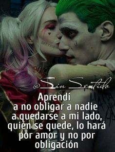 Love In Spanish, Cute Spanish Quotes, Disney Lessons, Joker Und Harley Quinn, Heath Ledger Joker, Jokes And Riddles, Jenni Rivera, Love Phrases, Joker Quotes