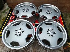 "18"" Mercedes E55 Staggered Factory OEM AMG Wheels Rims Monoblock 65239 65240"