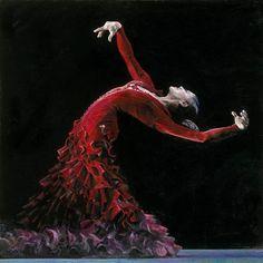 Фламенко в живописи. Обсуждение на LiveInternet - Российский Сервис Онлайн-Дневников