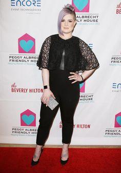 How to Wear It: Cape Dress - Kelly Osbourne