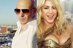 Italia Brasile sola andata: Shakira morde Pitbull: canterà anche lei all'inaug...