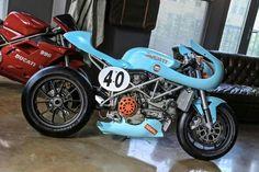 Gulf Ducati cafe racer