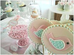 Romantic Shabby Chic Baptism Party Ideas | Photo 9 of 50