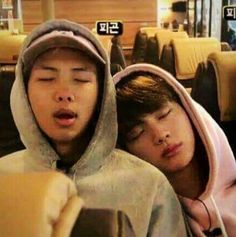 Read Namjin bestftiends' friend from the story BTS ships by -pjmbitch- (avasmoon) with reads. Jin and Namjoon went to the. Seokjin, Kim Namjoon, Jung Hoseok, Jikook, Foto Bts, Yoonmin, Fanfic Namjin, Bts Memes, K Pop