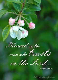 Blessed is the man who trusts in the Lord. Blessed is the man who makes the Lord his trust. Biblical Quotes, Bible Verses Quotes, Bible Scriptures, Spiritual Quotes, Psalms Verses, Healing Scriptures, Healing Quotes, Favorite Bible Verses, Jesus Is Lord