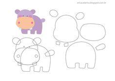hippopotamus #pattern #template - Picmia