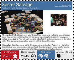 Secret Salvage by Franklin Kenter and Jeremy Commandeur