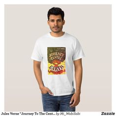 """Jules Verne """"Journey To The Centre Of The Earth"""" T-Shirt"""