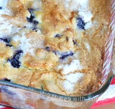 Buttermilk Blueberry Breakfast Cake... I didn't eat the Whole pan in an afternoon....just almost...