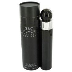 Perry Ellis 360 Black by Perry Ellis Eau De Toilette Spray 6.8 oz