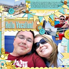 Vacation Cruise Scrapbook