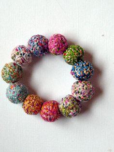 Embroidery Thread Bracelet Handmade