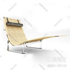 现代躺椅3D模型 Outdoor Chairs, Outdoor Furniture, Outdoor Decor, 3d Rendering, Sun Lounger, Home Decor, Chaise Longue, Decoration Home, Room Decor
