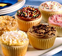 From one simply frosting recipe, you can make six flavors--vanilla, lemon, coffee, chocolate, maple, and raspberry.