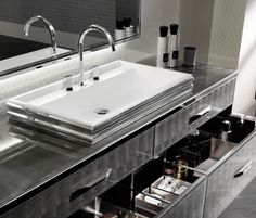 Detailed informations about product Washbasins | Glamour by Milldue with informations about addresses of retailers, picture galleries and different contact tools.…