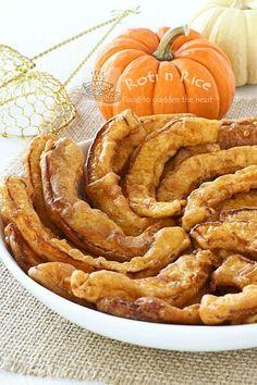 Pumpkin Pakoras | gluten free, vegetarian, vegan #glutenfree #vegetarian #vegan