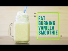 Fat-Burning Vanilla Smoothie - Low Carb [VIDEO] | Tasteaholics