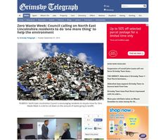 North East Lincolnshire Council encourage their residents to get on board with Zero Waste Week in their local newspaper http://www.grimsbytelegraph.co.uk/Zero-Waste-Week-Council-calling-North-East/story-22858326-detail/story.html
