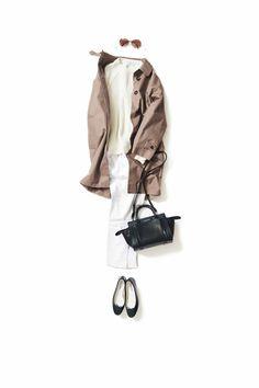 白×白を今年の気分で着るなら… / コーディネート詳細 / Kyoko Kikuchi's Closet | 菊池京子のクローゼット [ K.K closet ]