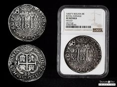 Lot: 205 | Charles II (1665-1700) | Auction 87 – Tauler&Fau Selection | Tauler&Fau Subastas | Sixbid World Coins, Auction, Pos
