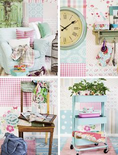Little Emma English Home: Pastel style: Spring Time