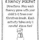 Christmas Fluency Packet FREEBIE  This is a quick and easy packet to send home with your students for homework or as a review over Christmas break....