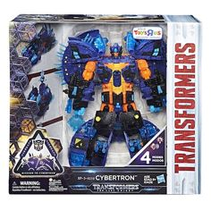 Transformers: The Last Knight 11 inch Action Figure - Converting Cybertron Planet