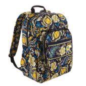 Vera Bradley Book bag with tech sleeve in Ellie Blue. $109.00