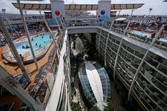 Pools aboard Oasis of the Seas