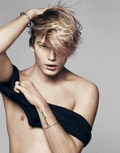 AN OBJECTIFICATION - Jordan Barrett by Kerry Hallihan.