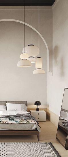 Luminaire design- Page 4 sur 306 Lantern Pendant Lighting, Pendant Lighting Bedroom, Feng Shui, Japanese Paper Lanterns, Suspension Design, Asian Design, Luminaire Design, Wabi Sabi, Danish Design
