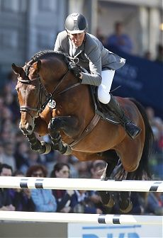 Hamburg 2014 Gallery - LONGINES GLOBAL CHAMPIONS TOUR - Ludger Beerbaum and Chaman in the Grand Prix