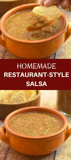 Homemade Restaurant-style Salsa delivers the bold flavors of Mexican restaurant salsa right in your own kitchen. With simple ingredients and five minutes of prep, you'll be dipping your chips in no time!