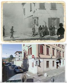 Soldati Tedeschi  in  San Giovanni Valdarno  Italy 1944